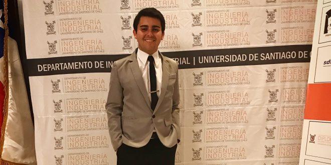 Luis Rojo, destacado ex alumno de la Generación 2012, estudia actualmente un Magister en Ciencias de la Ingeniería