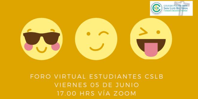 Nuevo Foro 5 Junio: ¿Cómo manejamos nuestras emociones en cuarentena?