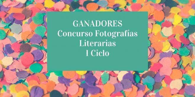 """Ganadores Concurso """"Fotografías Literarias"""""""